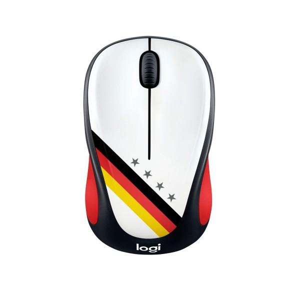Logitech m238 fan collection alemania ratón inalámbrico compacto y cómodo máxima compatibilidad
