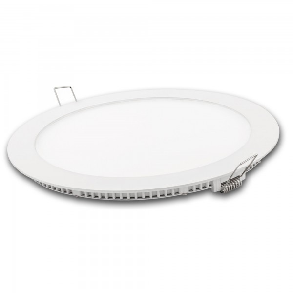 Downlight led redondo blanco 24w.cal.