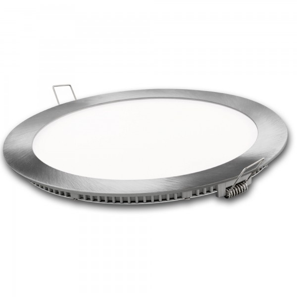 Downlight led redondo plata  3w.cal.