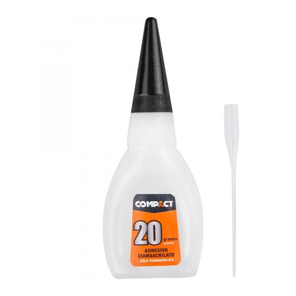 Adhesivo cianoacr. compact 20gr.precis.