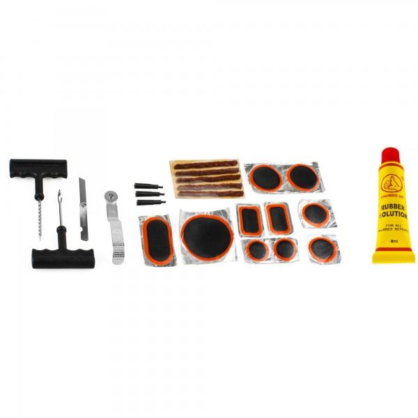 Reparador pinchazos y ruedas 23 pc.
