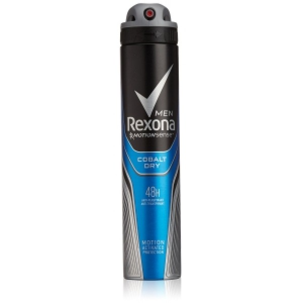 Desodorante rexona men cobalt dry 48h spray invisible 200ml