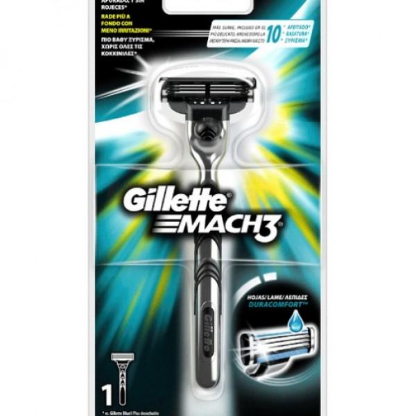 Gillette mach3 maquina + 1 recambio