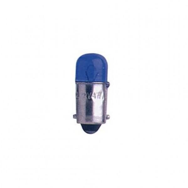 Lámpara t.control 12v 4w ba9s azul. caja 10 uds