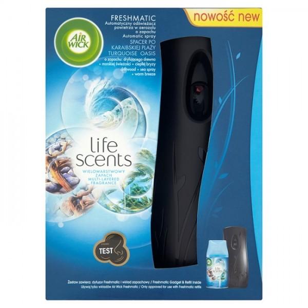 Airwick ambientador fresh matic apa+rec oasis