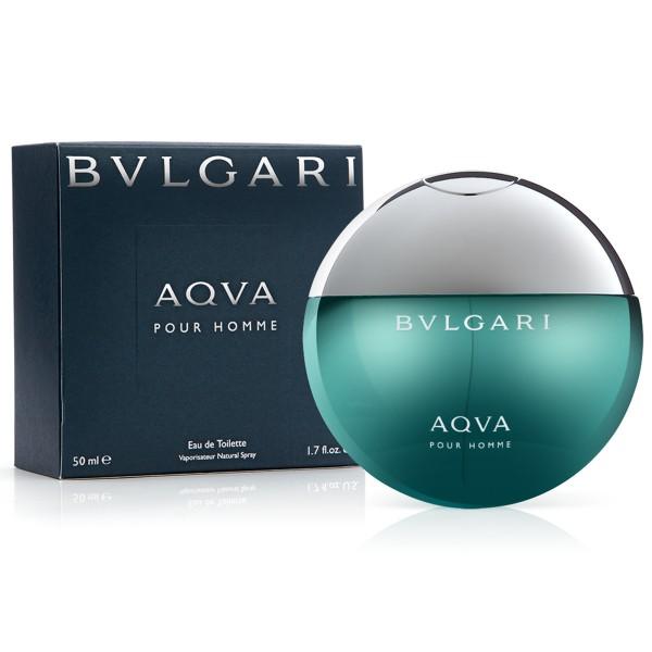 Bvlgari aqva eau de toilette pour homme 50ml vaporizador
