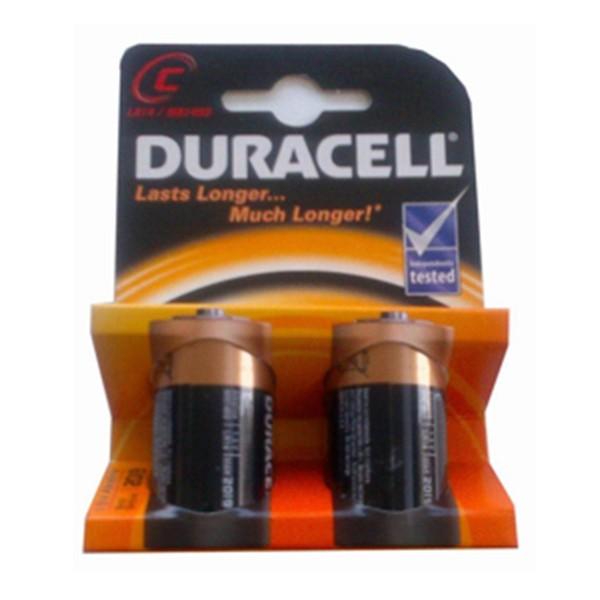 Duracell basic pilas c 2un