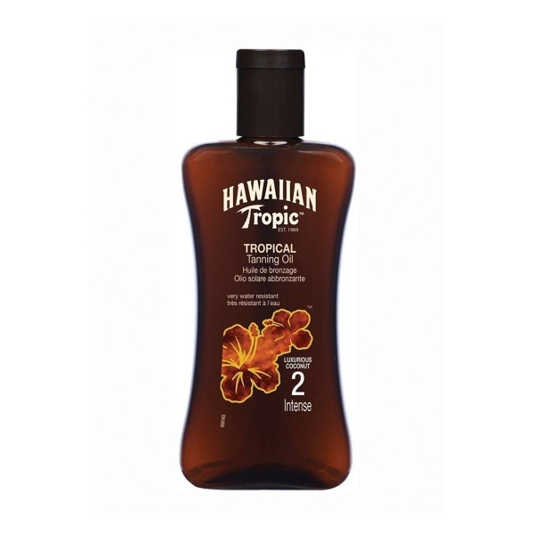 Hawaiian tropic tanning oil intense 200ml