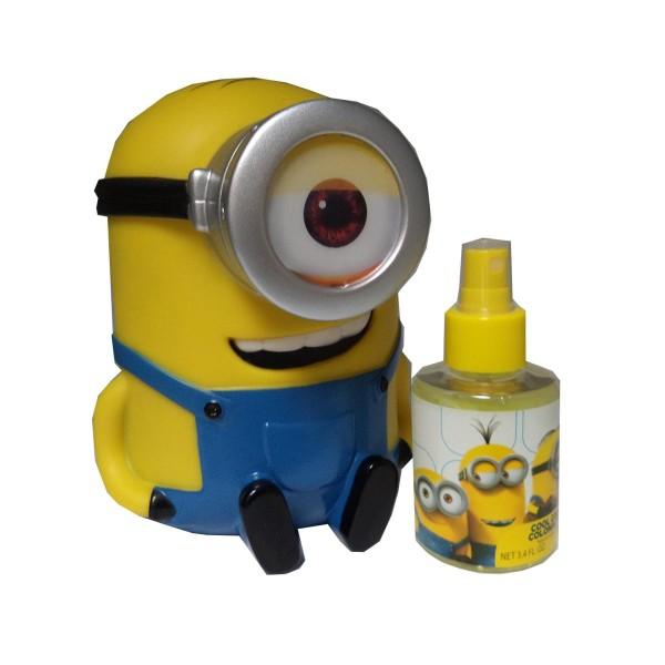 Minions minions colonia fresca 100ml vaporizador + hucha 1u