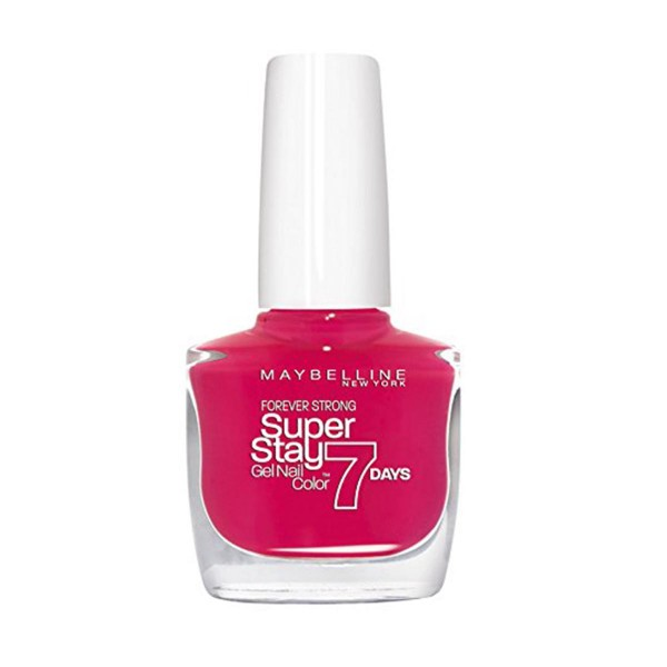Maybelline superstay 7 days gel nail color 180 rosy pink