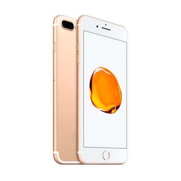 Apple iphone 7 plus 128gb dorado reacondicionado cpo móvil 4g 5.5'' retina fhd/4core/128gb/3gb ram/12mp+12mp/7mp