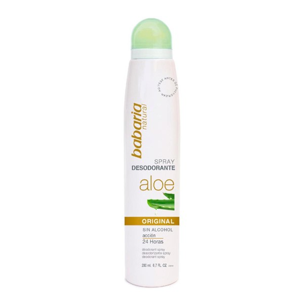 Babaria aloe desodorante spray original 200ml vaporizador