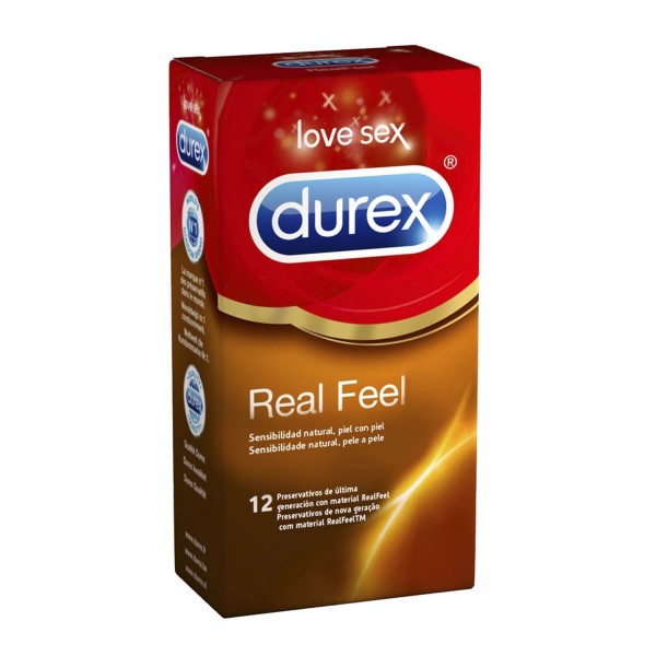 Durex real feel preservativos