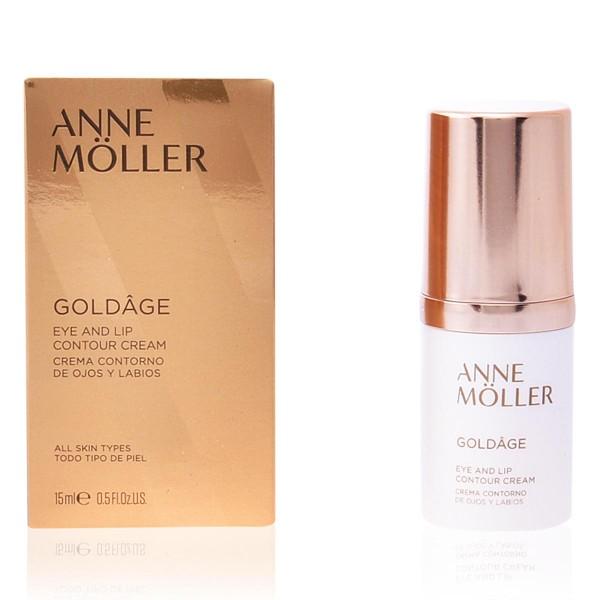 Anne moller goldage eye and lip crema 15ml