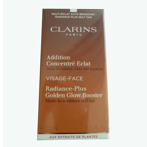 Clarins addition concentré eclat visage cream 15ml
