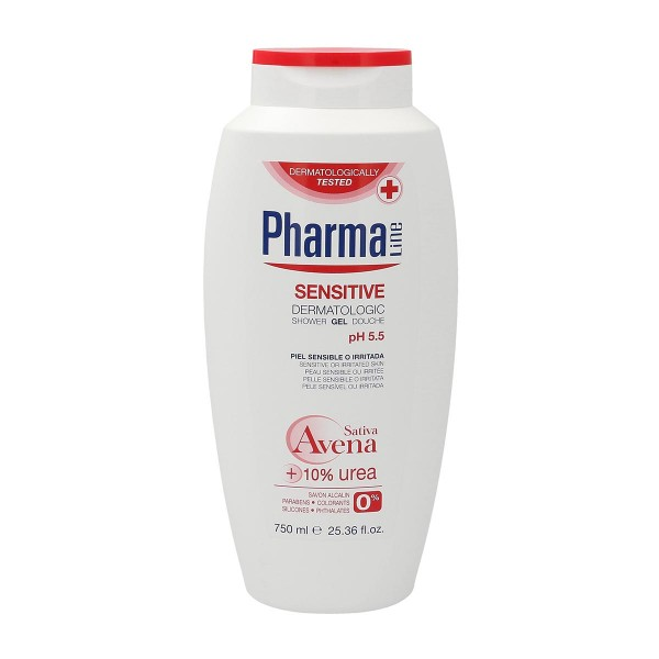 Pharmaline sensitive gel de ducha 750ml