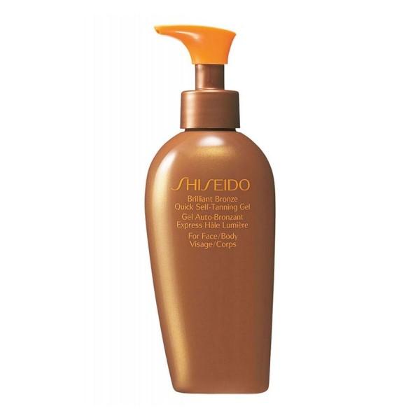 Shiseido for face brilliant bronze quick self-tanning gel 1m3