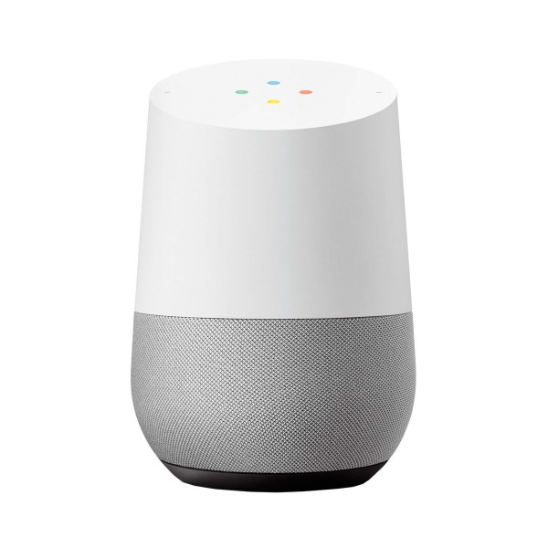 Google home blanco tela gris pizarra altavoz inteligente con asistente google wifi 5ghz