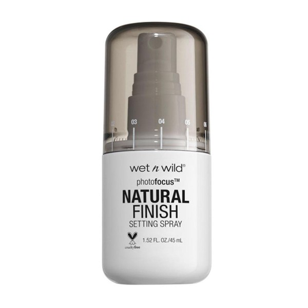 Wet'n wild photofocus natural finish setting spray seal the deal