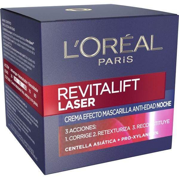 L´Oreal Revitalift Laser  crema noche  50 ml