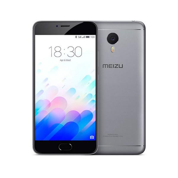 Meizu m3 note 16gb gris móvil dual sim 4g 5.5'' ips/8core/16gb/2gb ram/13mp/5mp