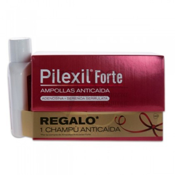 PILEXIL FORTE 15 AMP ANTICAIDA + REGALO PROMO