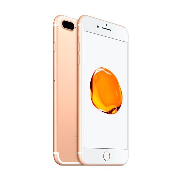 Apple iphone 7 plus 32gb oro reacondicionado cpo móvil 4g 5.5'' retina fhd/4core/32gb/3gb ram/12mp+12mp/7mp