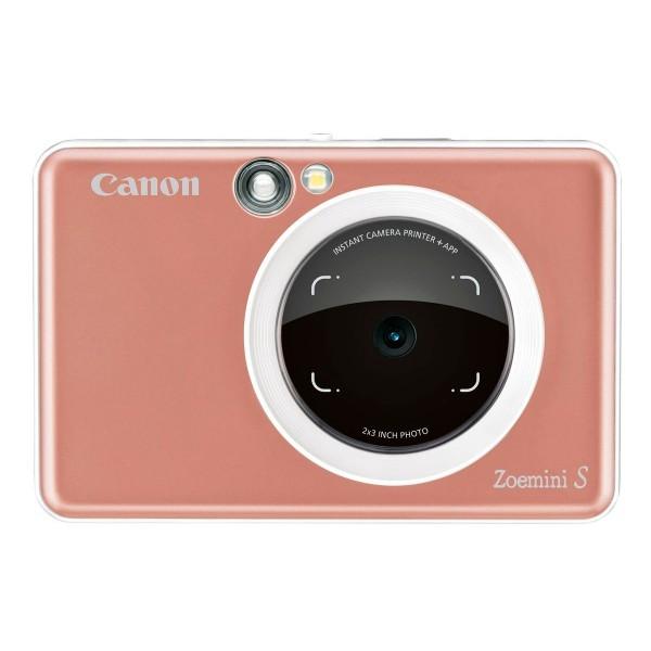 Canon zoemini s oro rosa cámara 8mpx impresora instantánea 5x7.6cm