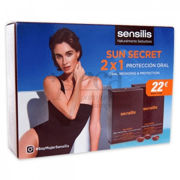 SENSILIS SUN SECRET PROTECCION ORAL 2X1 PROMO