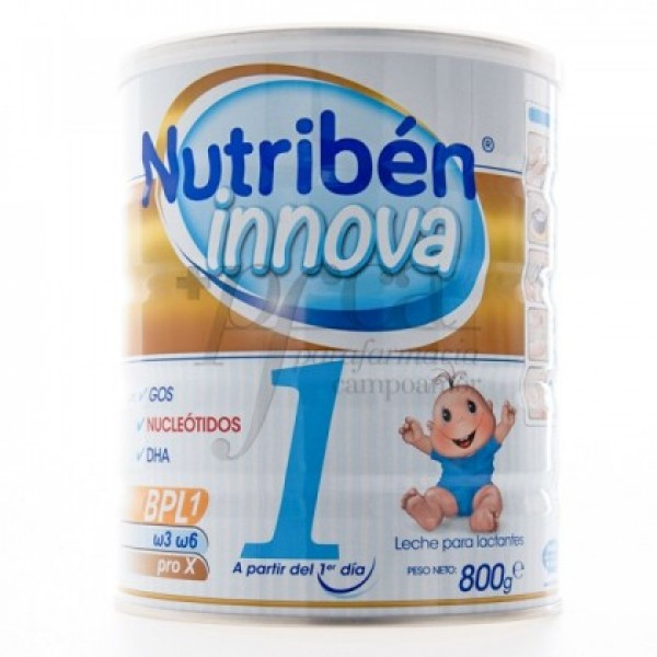 NUTRIBEN INNOVA 1 A PARTIR DE 1 DIA 800G