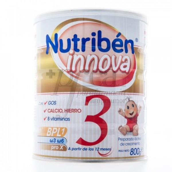 NUTRIBEN INNOVA 3 A PARTIR DE 12 MESES 800G
