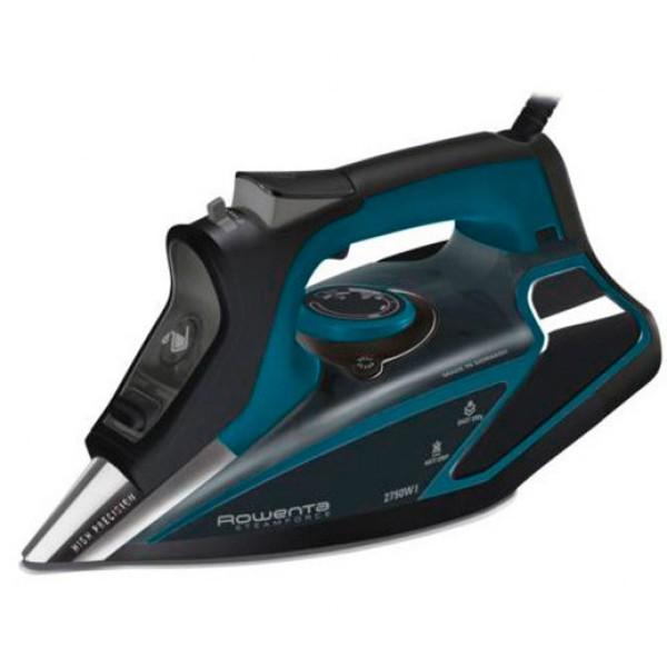 Rowenta dw9214 negro azul plancha steamforce vapor extra 2750w 200g por min