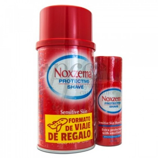 NOXZEMA EXTRA PIEL SENSIBLE 300ML+ 50ML PROMO