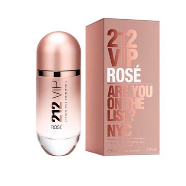 Carolina herrera 212 vip rose eau de parfum 80ml vaporizador