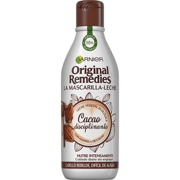 Garnier ORIGINAL REMEDIES Mascara-Leche Cacao 250 ml