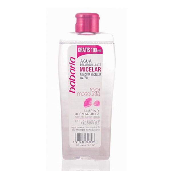 Babaria rosa mosqueta agua desmaquillante micelar 400ml