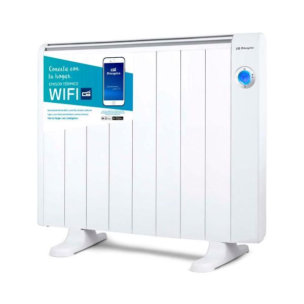 Orbegozo rrw-1500 blanco emisor térmico 1500w control por wifi y por voz