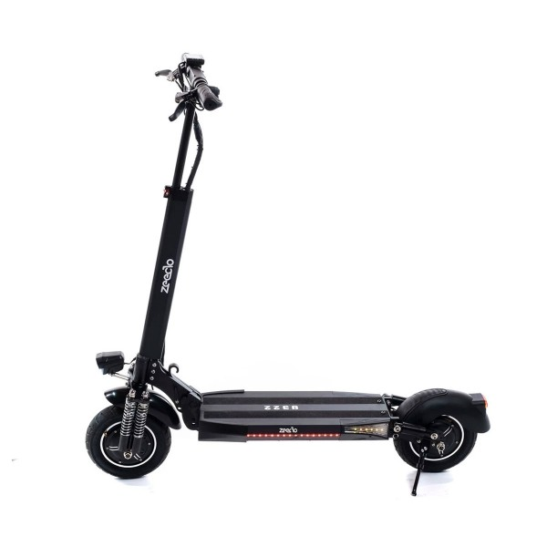 Zeeclo u320 fenix 10a negro patinete eléctrico 30km/h  30km de autonomía con diseño plegable