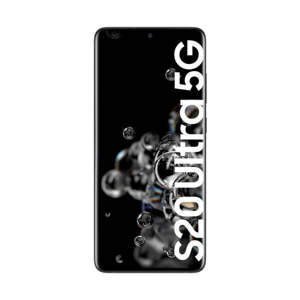 Samsung g988 galaxy s20 ultra negro móvil dual sim 5g 6.9'' qhd+ octacore 128gb 12gb ram pentacam 108mp selfies 40mp