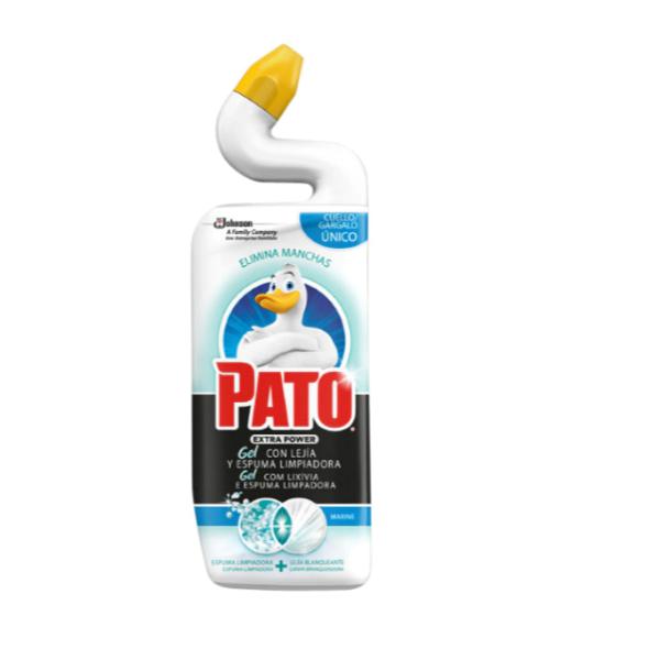 Pato gel con lejía y espuma limpiadora Marine 750 ml