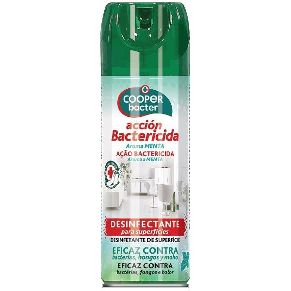 CooperBacter desinfectante para superfícies Menta 200 ml