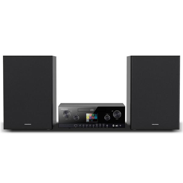 Grundig m4050bt sistema hi-fi con radio por internet spotify bluetooth dab+