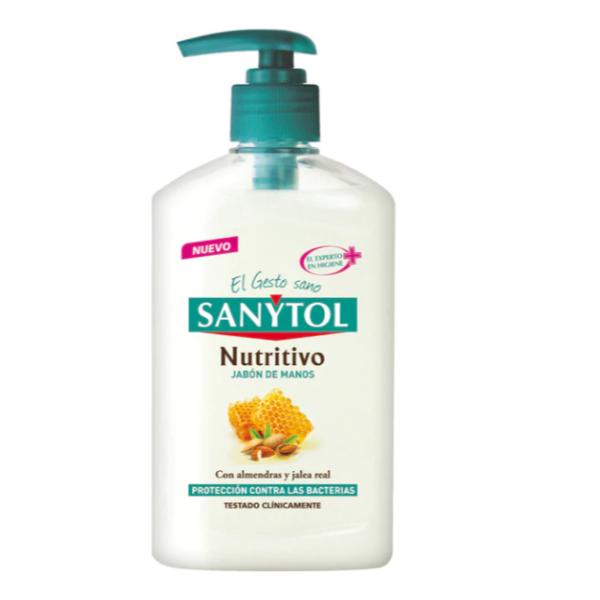 Sanytol jabón de manos  Nutritivo 250 ml