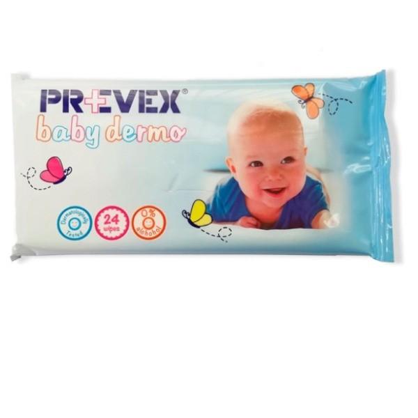 Prevex toallitas Baby Dermo 72 uds
